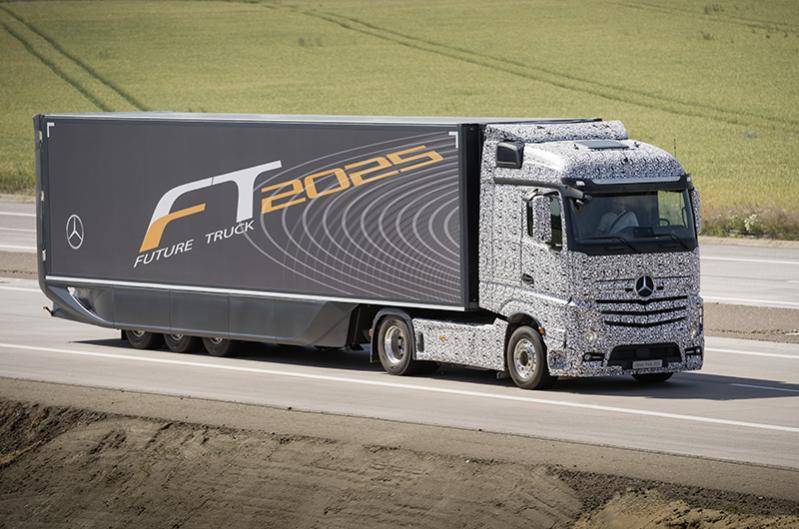 卡车的出现使货车司机不必再被迫长时间疲劳驾驶.当车辆驶上高清图片