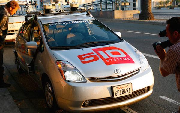 Google 无人驾驶汽车鼻祖:神秘的 510 Systems