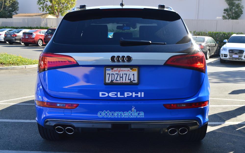 德尔福的自动驾驶汽车即将跨州旅行