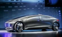 触摸未来,奔驰秀出超酷自动驾驶概念车
